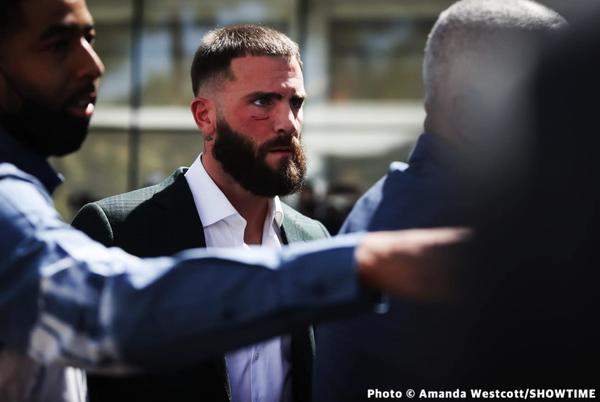 Picture for Caleb Plant responds to Canelo saying he's going to break his jaw: 'Going to have to back that up'
