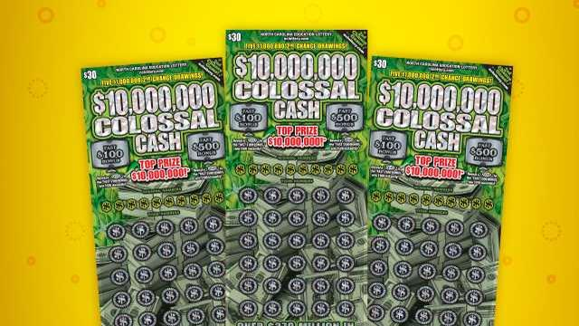 Picture for Burlington man plans to use $10 million lottery prize to help family