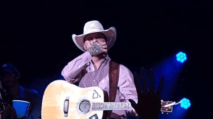 """Picture for Cody Johnson Moved To Tears Performing The Gospel Classic, """"How Great Thou Art,"""" At The Ryman"""