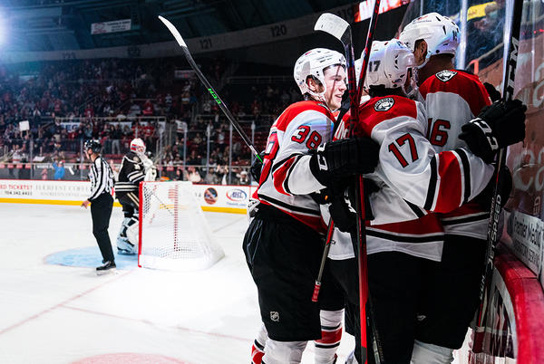 Picture for Checkers Take Down Bears 5-3 In Home Opener