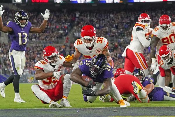 Picture for Chiefs' abysmal red zone defense a big concern ahead of week 3
