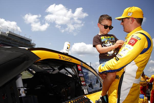 Picture for NASCAR Star Kyle Busch's 6-Year-Old Son Puts the Winner of 222 Races in His Place: 'You're Drama'