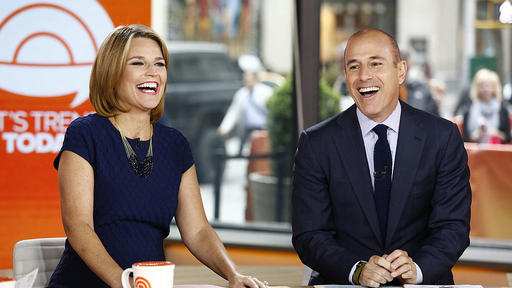 Today Show Have Savannah Guthrie And Matt Lauer Been Keeping In Touch News Break