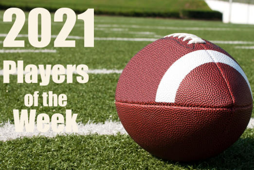Picture for High school football players of the week