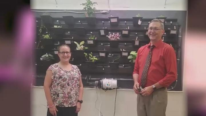Cover for What's Right With Schools: Two Windham teachers recognized nationally for urban farm they built for STEM students
