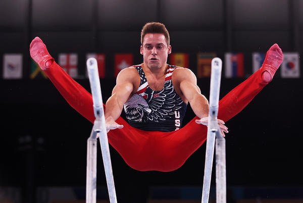 Picture for US men's gymnastics team settles for fifth-place finish