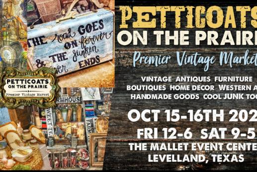 Picture for Petticoats on the Prairie hosts annual premier vintage market
