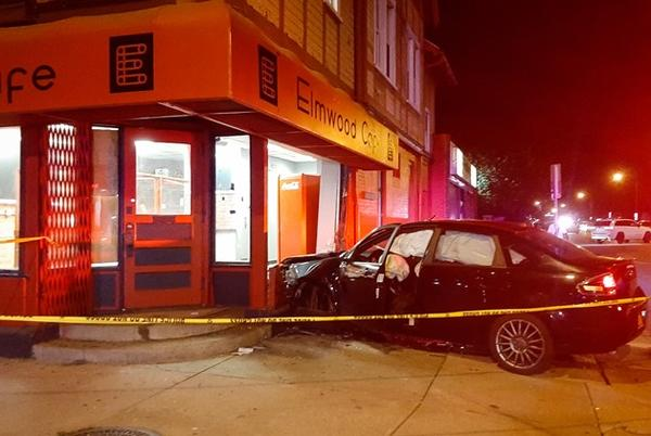 Picture for 28-year-old man arrested after vehicle crashes into building