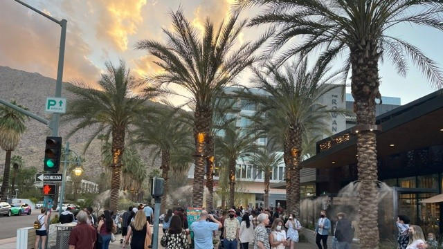 Picture for Palm Springs business owners plead case for return to indoor mask mandates