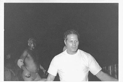 Picture for Stu Schwartz, Tampa's handsome pro wrestling referee, is dead at 90