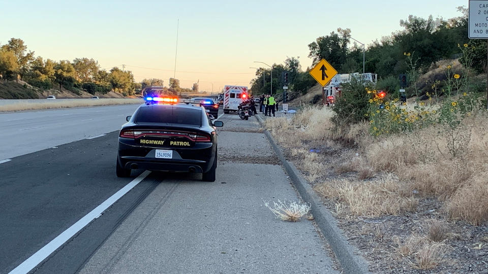 Picture for Motorcyclist killed in crash during suspected race on Highway 168