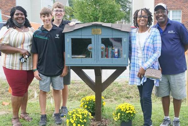 Picture for Free Little Library added to Stephanie's Place