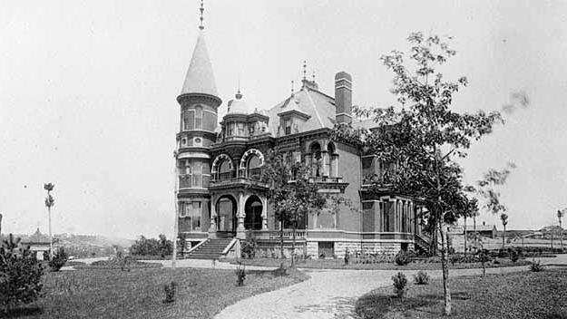 Cover for History of the Theodore Hamm Mansion: From Castle on a Hill to City Park