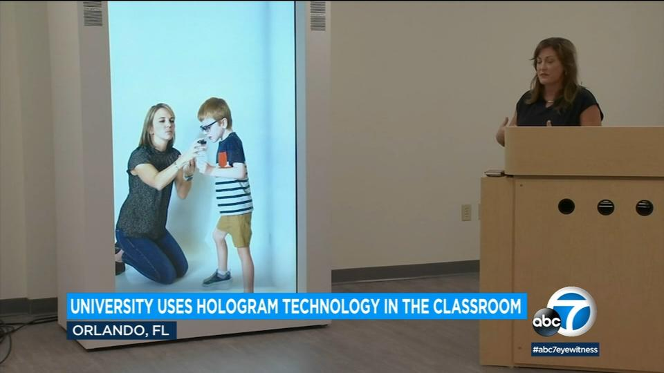 Picture for Holograms in the classroom: LA company's tech beams virtual patients into med-school classes