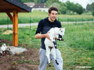 Picture for Thibaut Pinot and his goats have a casualwear range