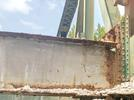 """Picture for Old Pruitt bridge: Some parts can't be """"salvaged for scrap'"""