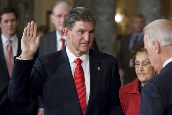 Picture for Scoop: Biden bombs with Manchin