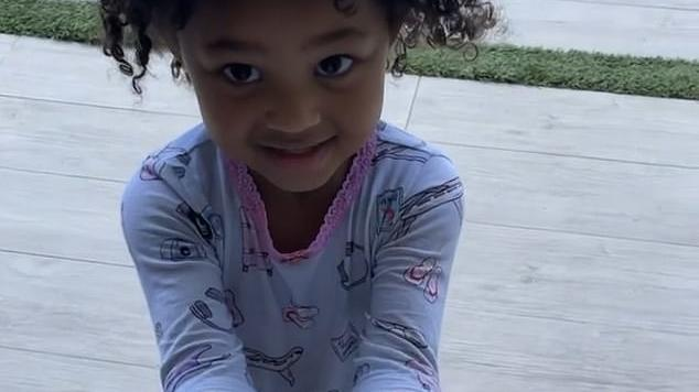 Picture for Kylie Jenner shares sweet video of daughter Stormi making a mess with sunscreen after the three-year-old tried to put some on her doll