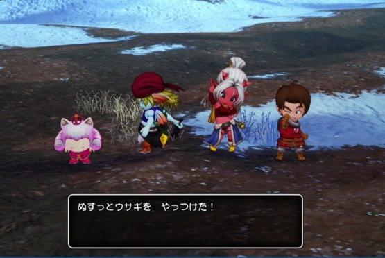 Picture for Dragon Quest X Offline debut gameplay