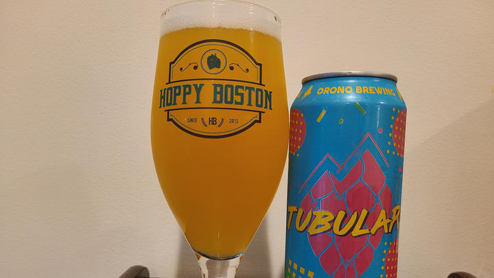 Cover for Orono Brewing Tubular IPA