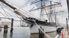 Cover for Here is how sailors can board the 'Official Tall Ship of Texas' in Galveston