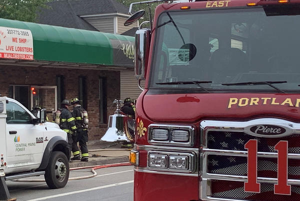 Picture for Crews on scene at commercial fire in Portland