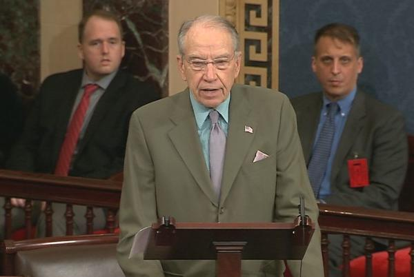 Picture for Longtime Iowa Sen. Chuck Grassley is running for reelection