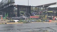 Cover for At least 5 injured after powerful tornado rips through Pennsylvania