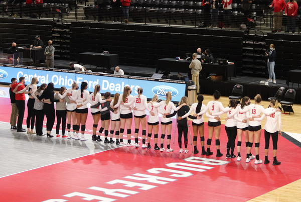 Picture for Women's Volleyball: No. 3 Ohio State sweeps Notre Dame in South Bend