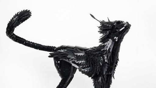 Part Wild Cat Part Bird Of Prey This Sculpture Is Stunning News Break