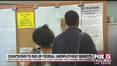 Cover for Nevada unemployment director: 'Start looking' for work as federal benefits expire soon