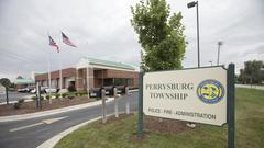 Cover for Perrysburg Twp. pride: Flags will fly for bicentennial
