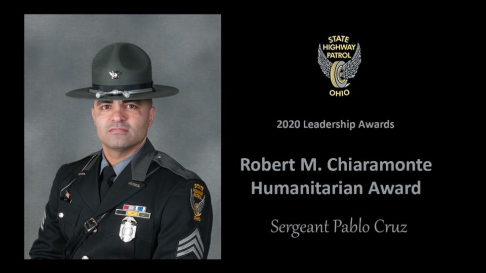 Picture for Ohio State Highway Patrol Honors Sergeant Pablo Cruz