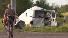 Cover for 10 killed when packed van crashes in South Texas