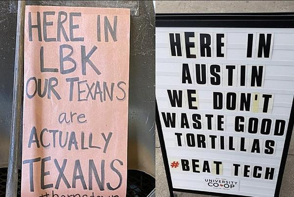 Picture for Lubbock BBQ Joint Claps Back at Dumb Sign in Austin