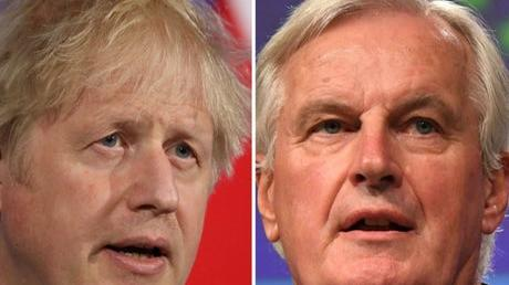 Picture for Michel Barnier tells Boris Johnson to 'respect his signature' on Brexit deal and warns UK reputation could be damaged