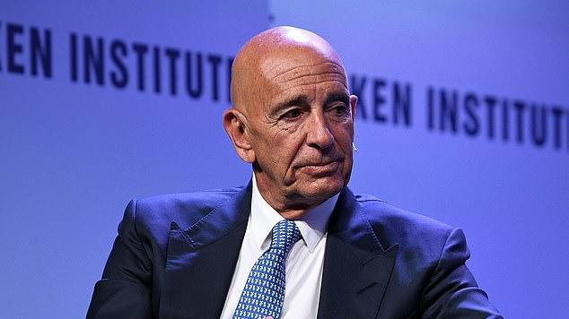 Picture for Trump's billionaire ally Tom Barrack, 75, is released on $250 MILLION bond after reaching a deal with prosecutors following his arrest for 'acting as an agent of the UAE'