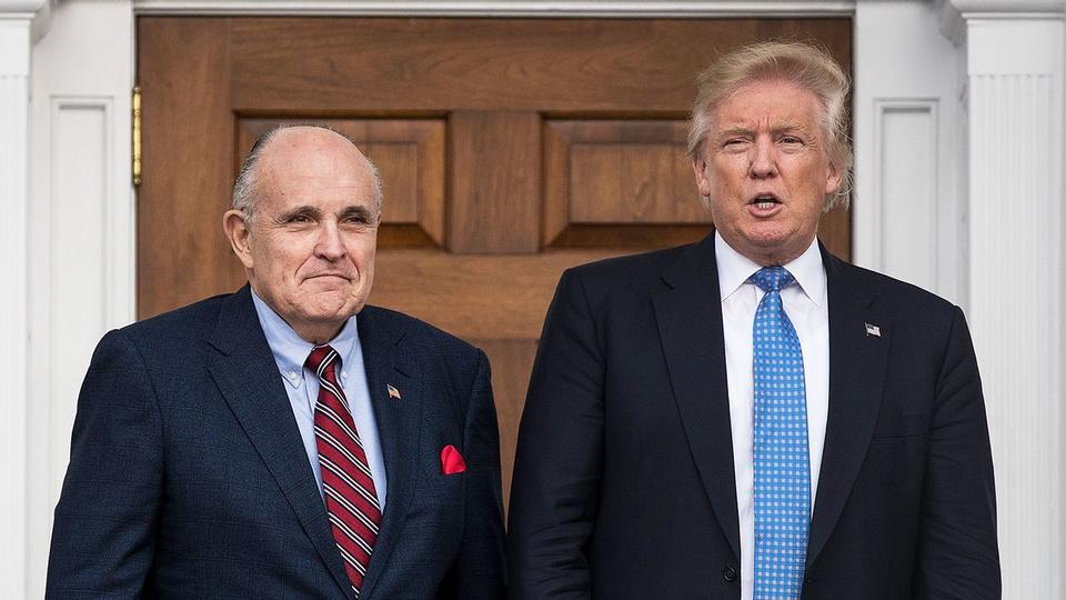 """Picture for """"Broke"""" and abandoned: Rudy Giuliani is reportedly now getting the cold shoulder from Trump"""