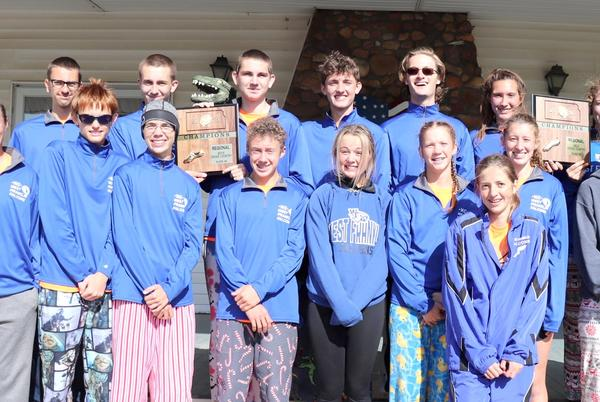 Picture for Double champs: West Franklin cross country teams dominate regional races