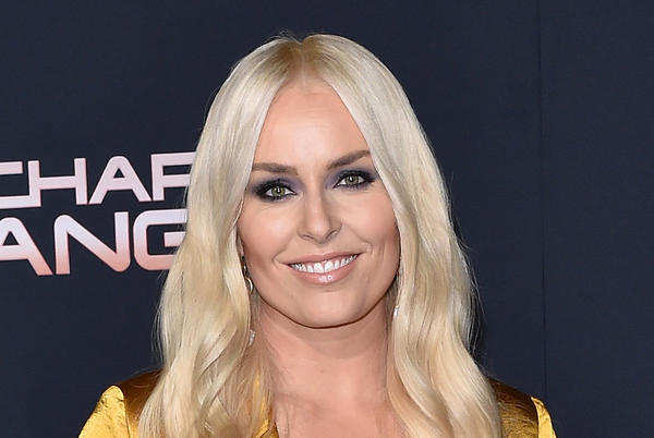 Picture for Lindsey Vonn Is Fall-Ready in Cozy Sweater, Velvet Pants & White Shoes With Gavin DeGraw