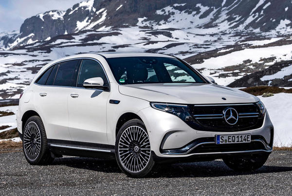Picture for Mercedes Changes Its Mind About The EQC