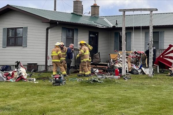 Picture for Plane crashes in rural Ashland County, kills 2