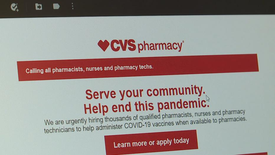 CVS hiring hundreds in Wisconsin for vaccine distribution ...