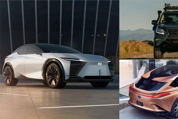 Picture for Future Lexus SUVs Take Shape Including TX and RZ, Next-Gen GX and LX