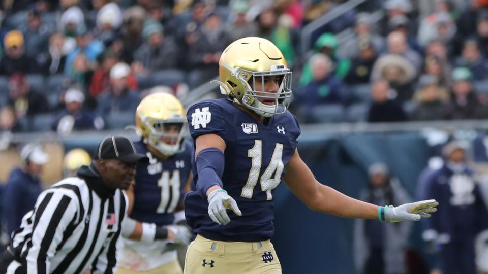Picture for Talking Kyle Hamilton, Jack Coan, Notre Dame and the College Football Playoff