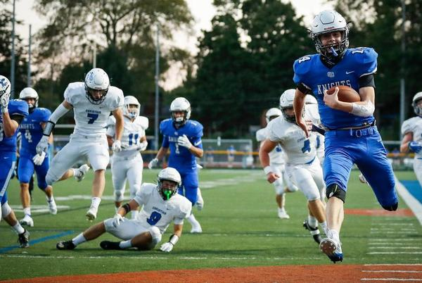 Picture for 'What Friday Night Lights is about.' Lexington's 'Holy War' rivalry already a classic.