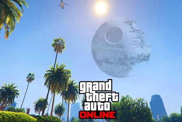 Picture for GTA Online players don't know what to make of mysterious object in sky
