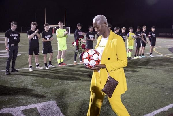 Picture for He died before he could be honored on Senior Night. But his soccer teammates still found a way.