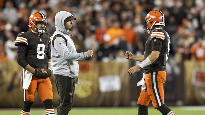 Cover for Doug Dieken: Case Keenum opened up a can of worms with Baker Mayfield injury; that was a gritty win