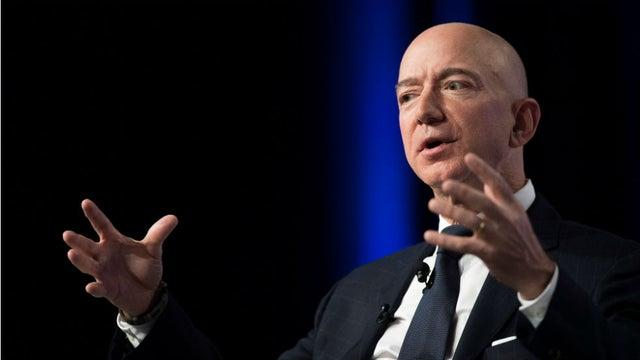Picture for Seat on Bezos-backed space flight sells for $28 million at auction